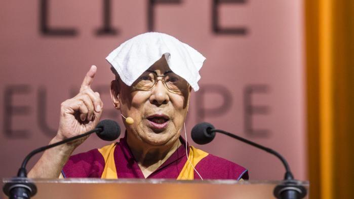 Le Dalaï Lama s'éclate !